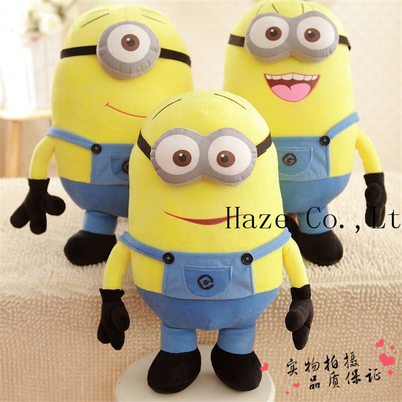 "20"" Despicable Me 2 Plush Soft Toy In Movie Minion Minions ..."