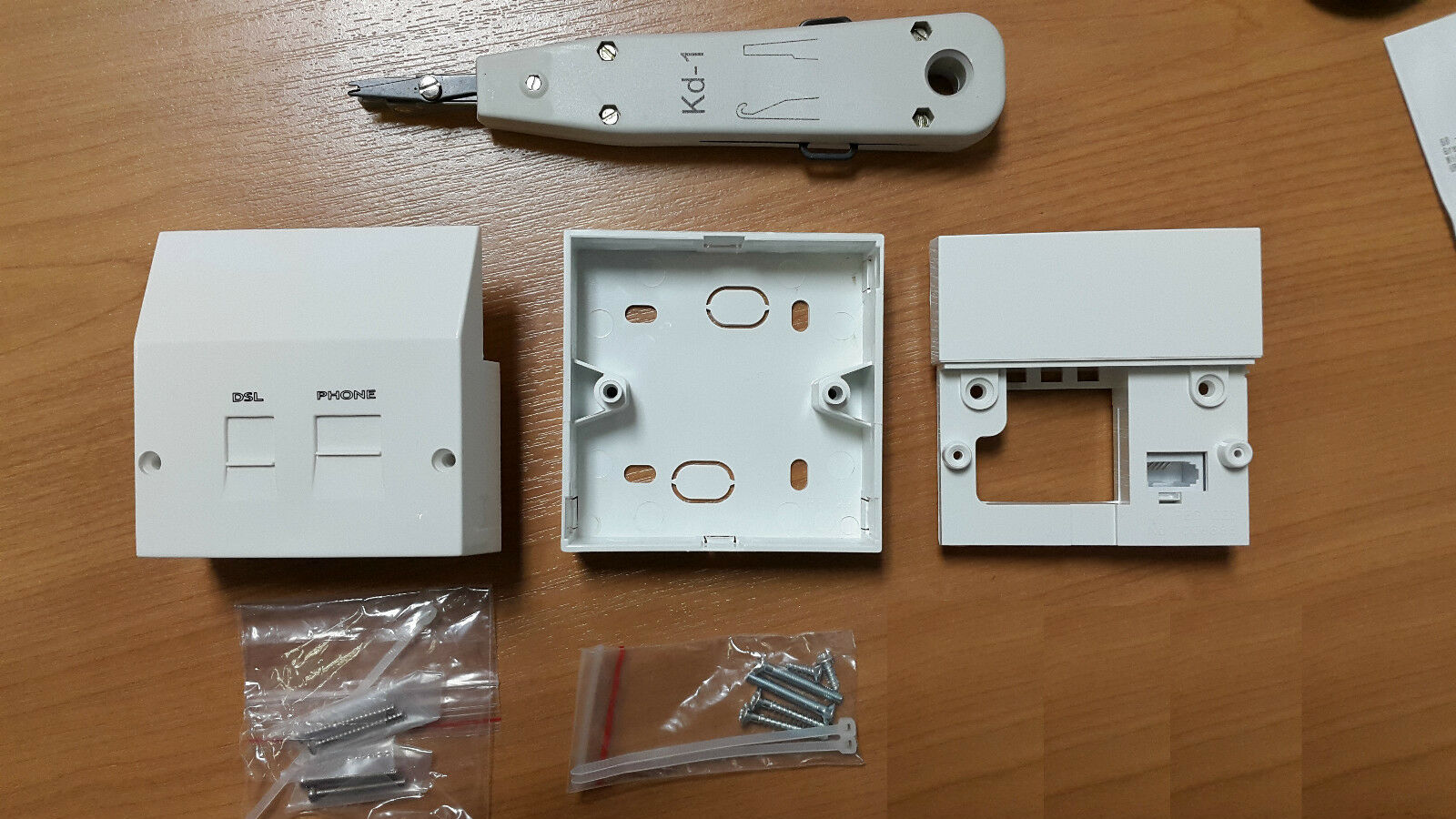 Genuine Telephone Nte5 Master Socket Dsl Adsl Phone Filter Box Idc Wiring An Tool Bt Style 1 Of 3free Shipping