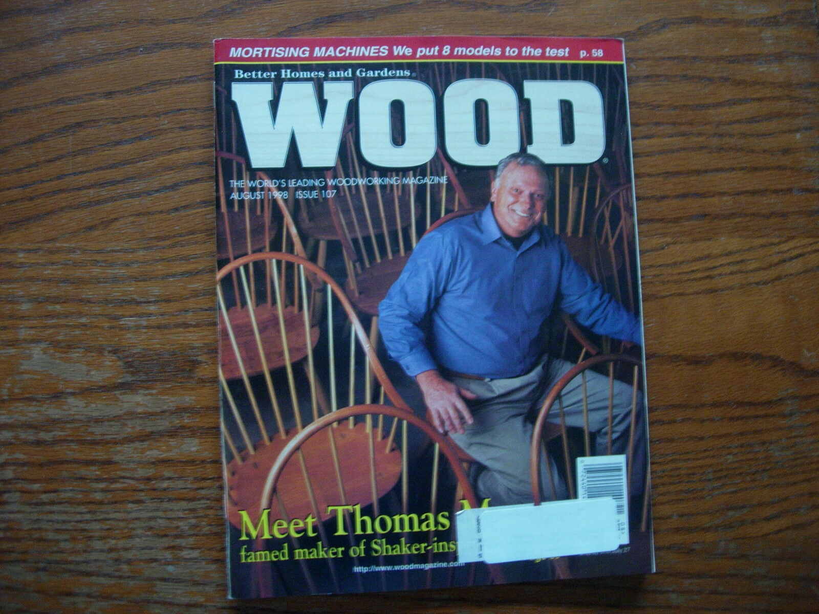 Better Homes U0026 Gardens Wood Magazine Issue 107 August 1998 1 Of 1Only 1  Available ...