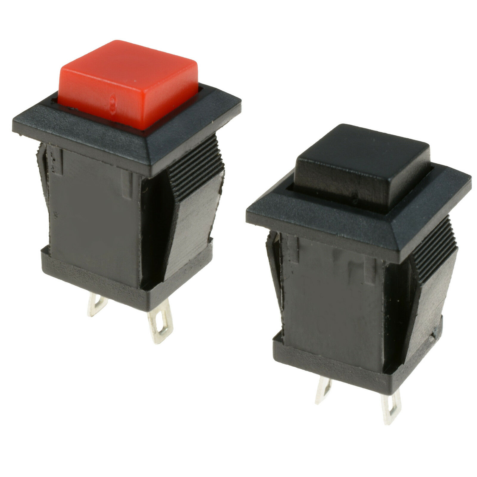 Square Momentary Offon Push To Make Switch Spst 260 Picclick Of Switches Should Only Require Two Terminals 1 See More
