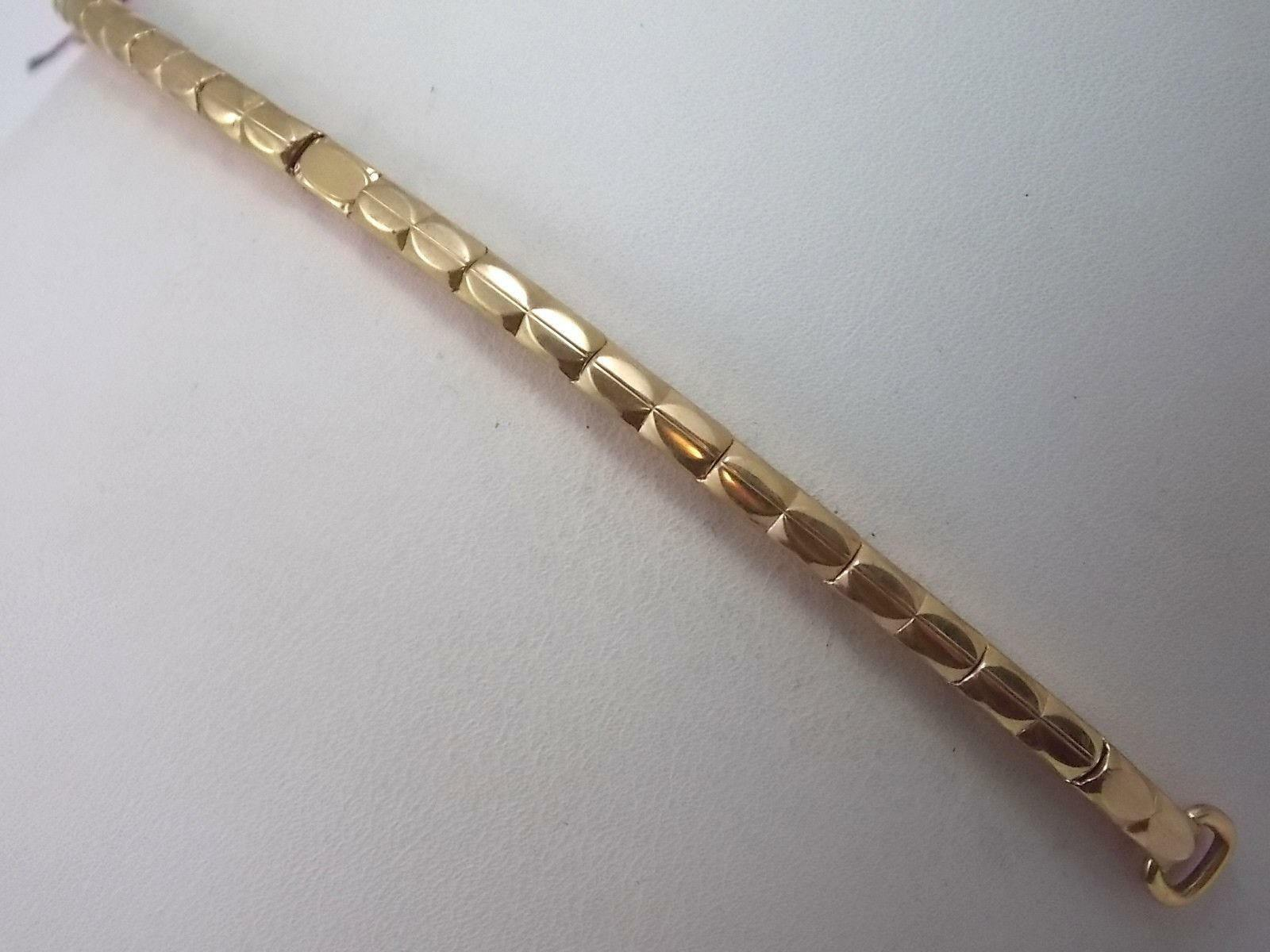 Vintage Hook End Hadley Ladies Watch Band Full Expansion Gold Filled New Old Stk