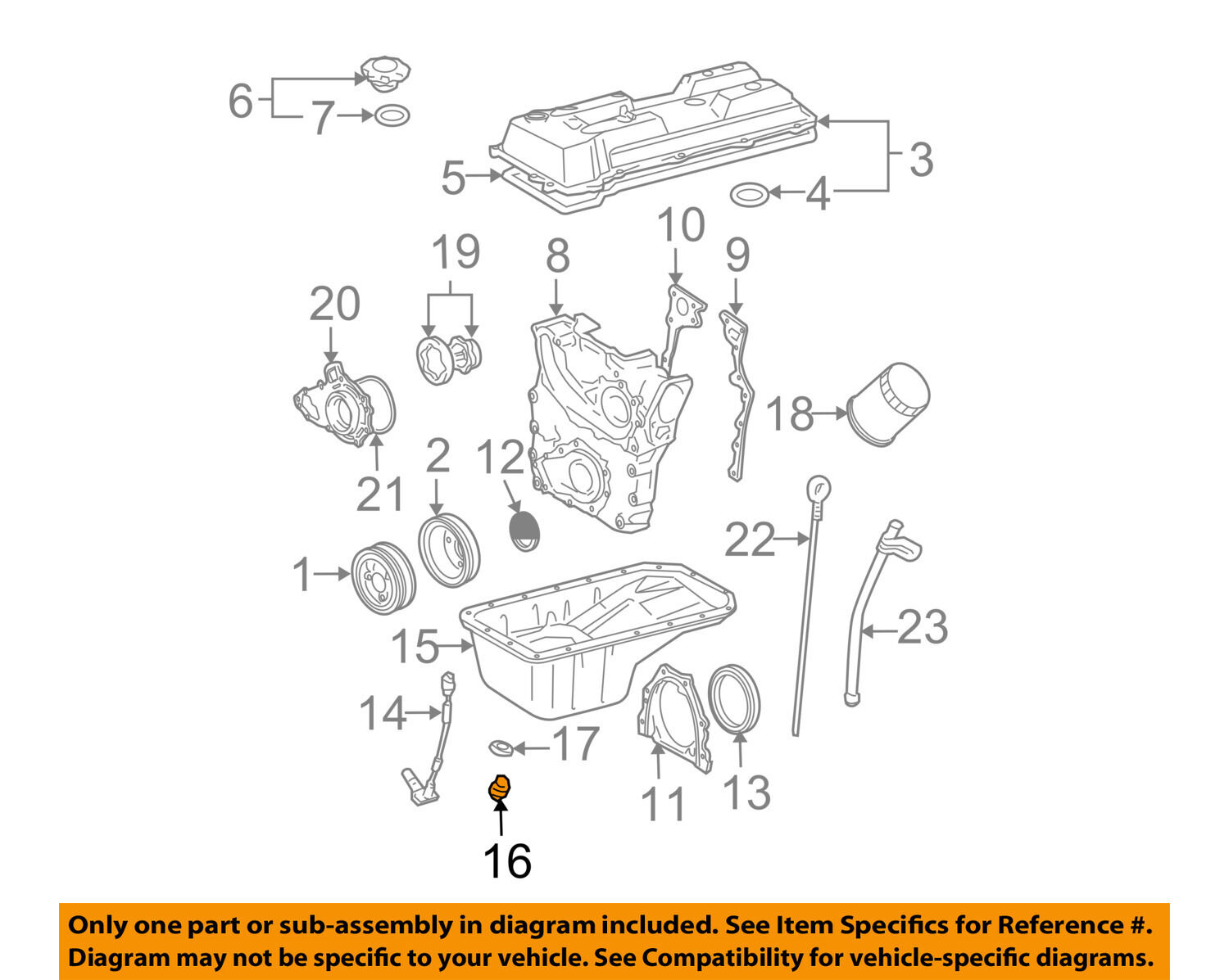 Toyota Oem Engine Oil Drain Plug 9034112012 436 Picclick Ae86 Corolla Usa Canada Ewd Wiring Diagrams For The 1 Of 2 See More