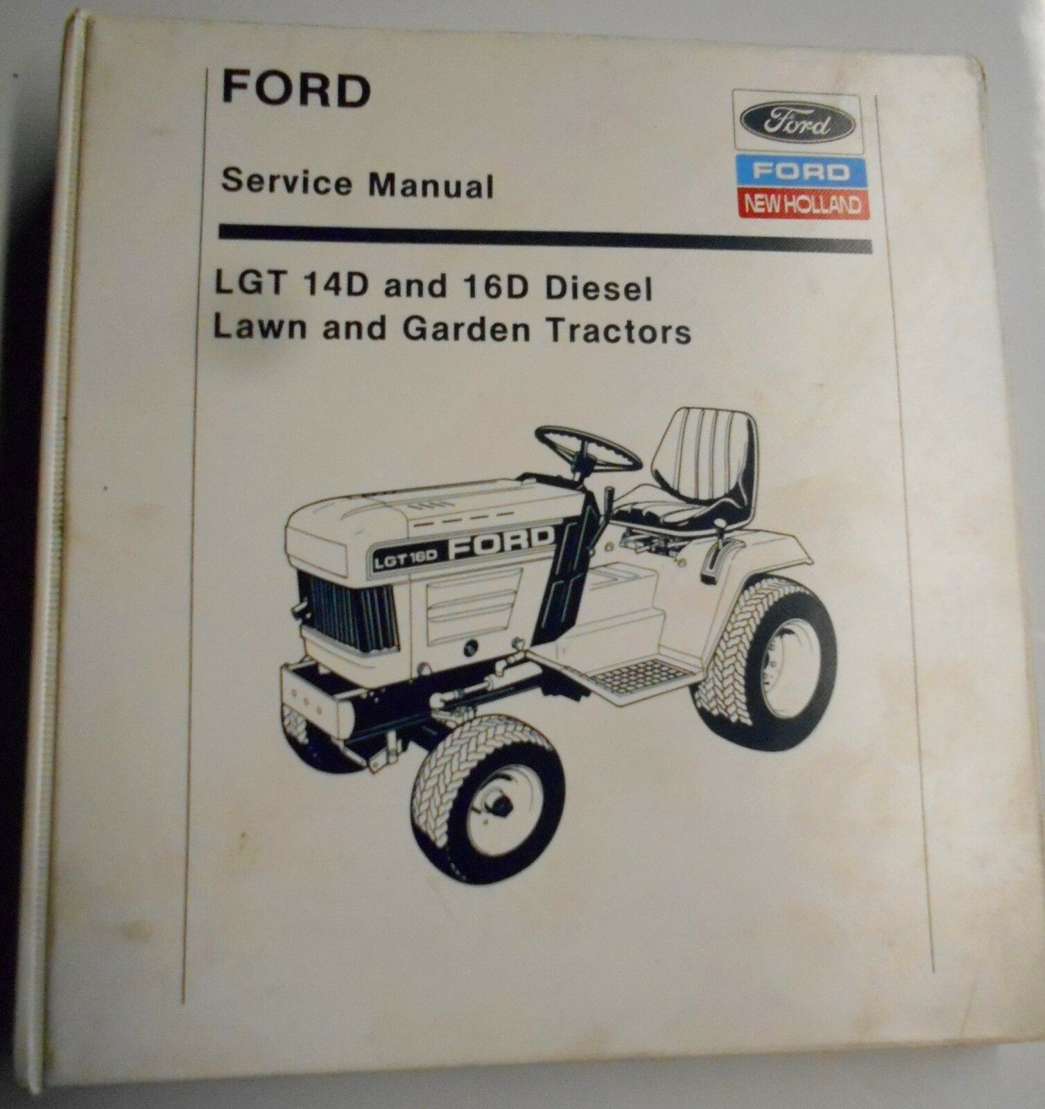 Ford New Holland Lgt 14D And 16D Diesel Lawn And Garden Tractors Service  Manual 1 of 1Only 1 available See More