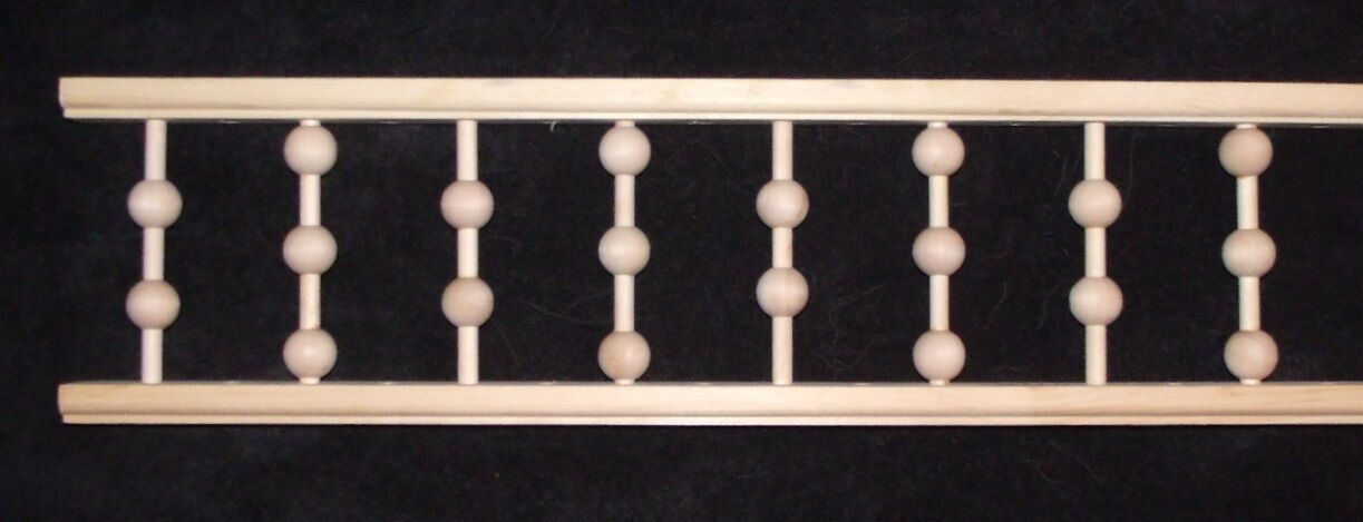 """Victorian Gingerbread Porch Spandrel Trim ~ 6.5"""" Tall BALL SPINDLES ~ by PLD"""