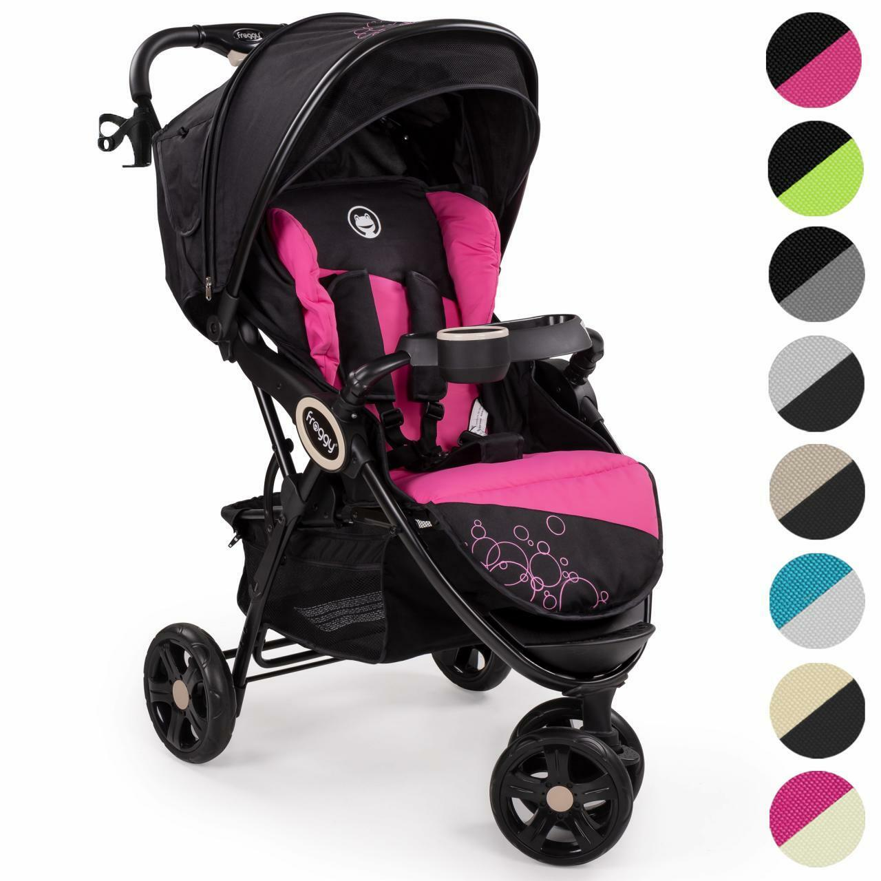 froggy kinderwagen buggy sportwagen baby kinder wagen farbauswahl eur 77 95 picclick de. Black Bedroom Furniture Sets. Home Design Ideas