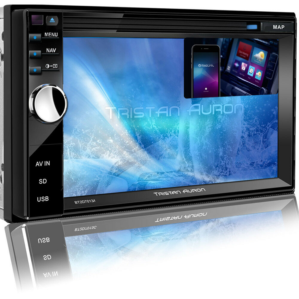 autoradio mit gps navigation navi bluetooth touchscreen usb sd mp3 doppel 2din eur 229 90. Black Bedroom Furniture Sets. Home Design Ideas