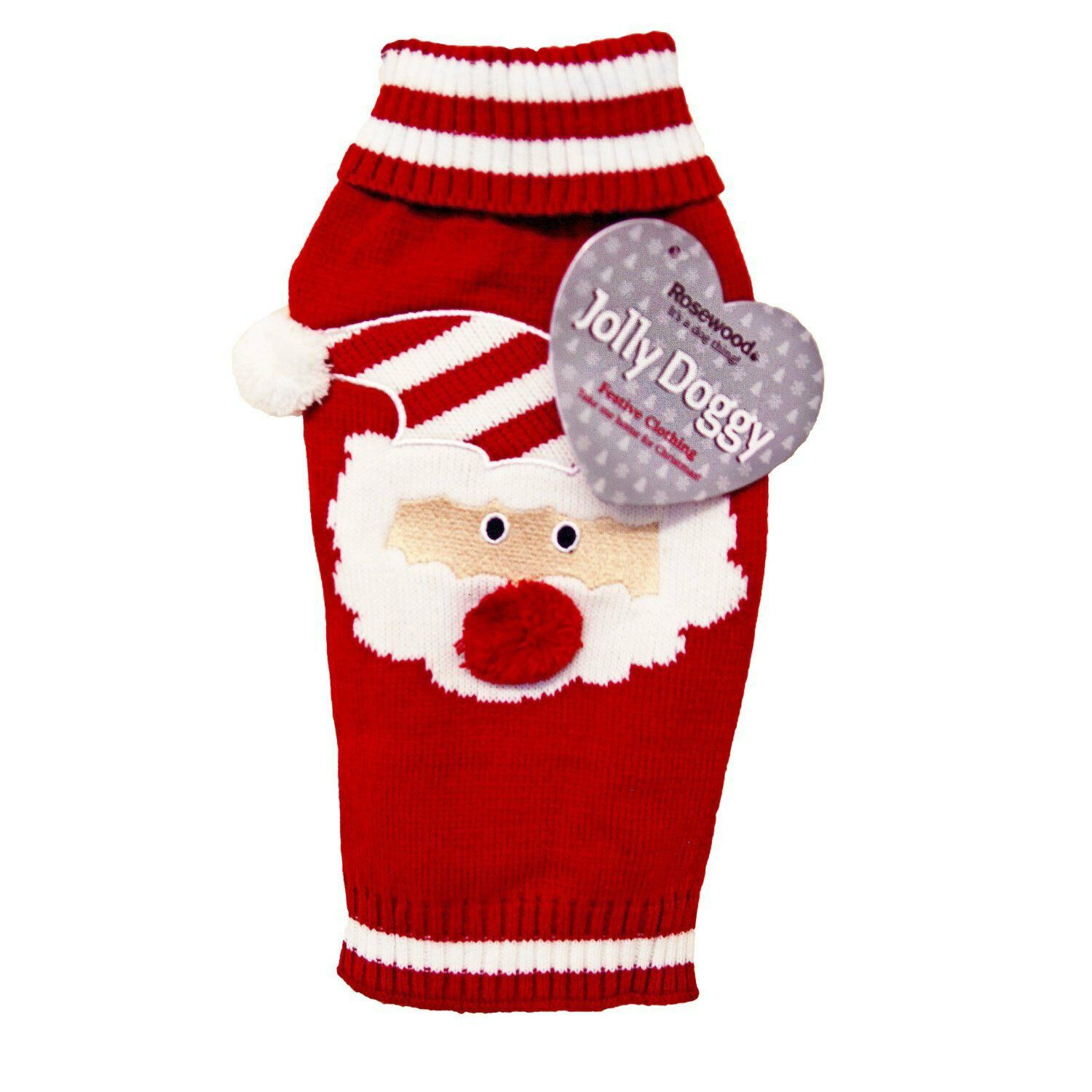 Rosewood Christmas Santa Claus Sweater Large 46cm RW38891