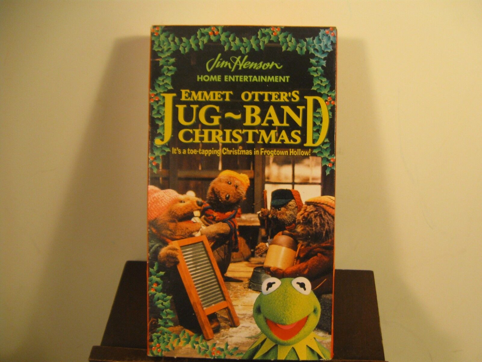 JIM HENSON EMMET Otter\'s Jug~Band Christmas VHS Tape Movie Kermit ...
