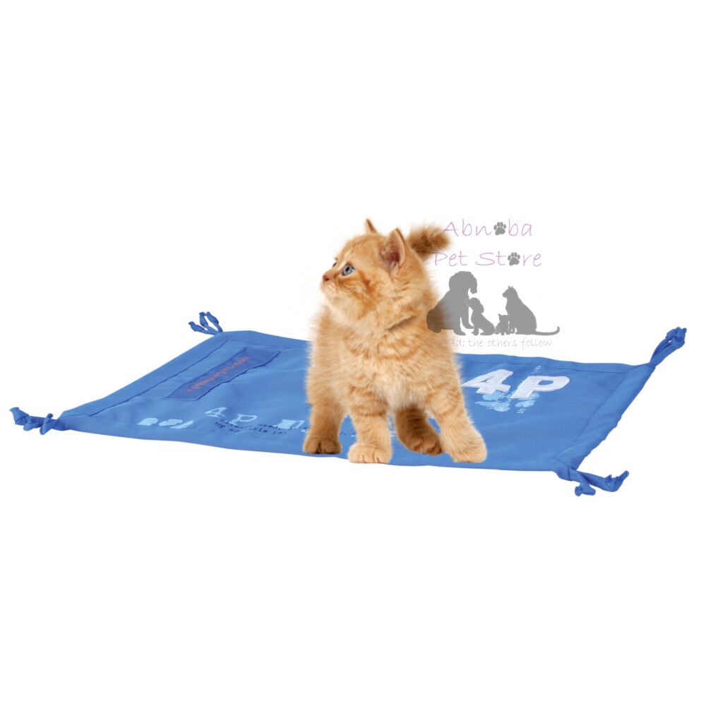 Trixie Cat Kitten 4P Play Mat, Rustling Foil And Tassles 55 X 37cm Same Day Post