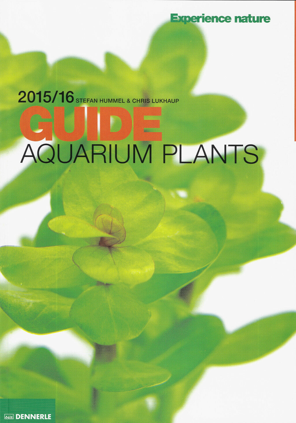 New Dennerle Aquarium Plant Guide 2015/2016 - Over 670 images on 148 full pages