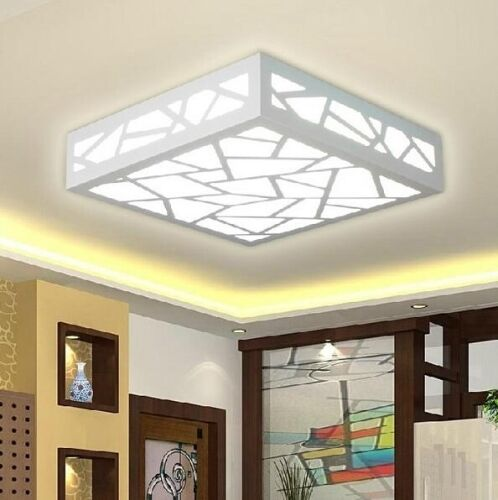plafond moderne lumi re bois fixture sculpture water cube led lustres cool white eur 22 58. Black Bedroom Furniture Sets. Home Design Ideas