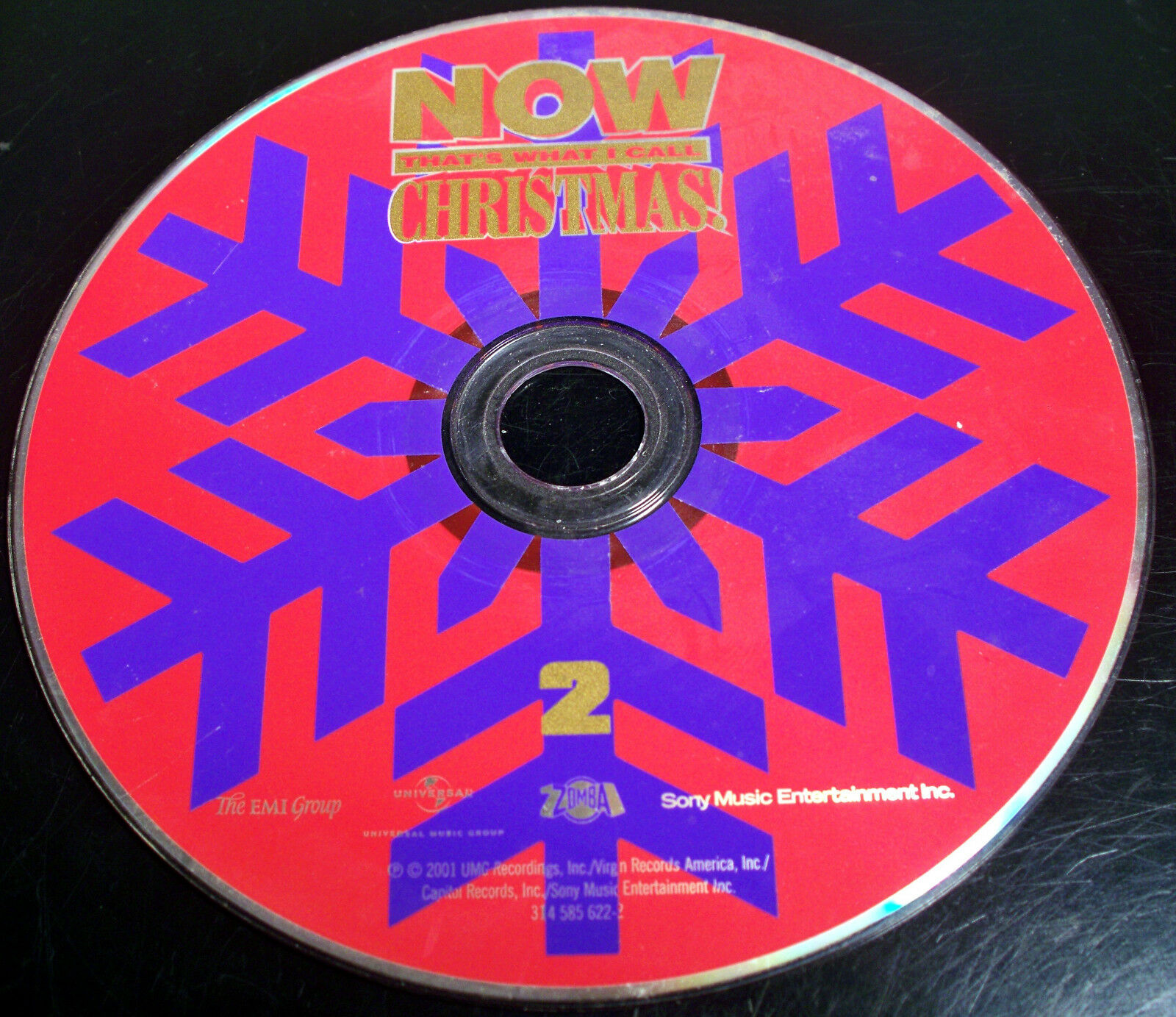 NOW THAT\'S WHAT I Call Christmas! by Various Artists (CD, 2001, Disc ...