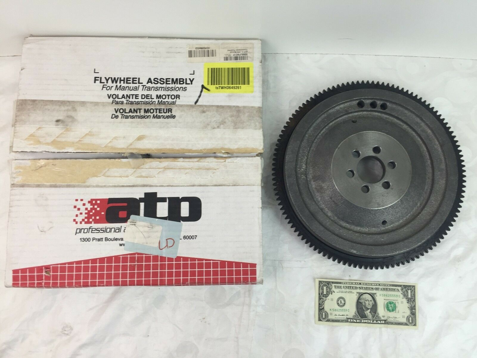 ATP Z-276 Manual Transmission Flywheel 1 of 6Only 1 available See More
