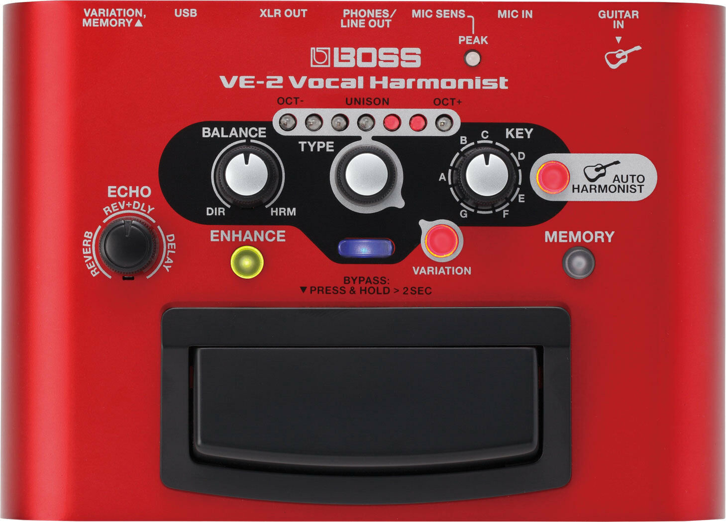 Boss Ve 2 Vocal Harmonist Battery Powered Portable Effects Fx Circuits Gt Dd Digital Delay Guitar Pedal Schematic Diagram 1 Of 5only Available