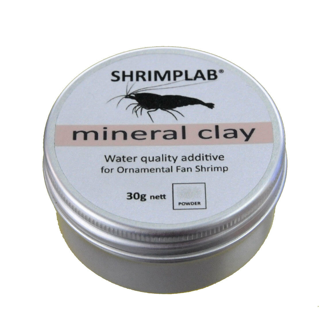 Shrimplab Mineral Clay 30g -  Montmorillonite Mineral Powder For All Shrimp