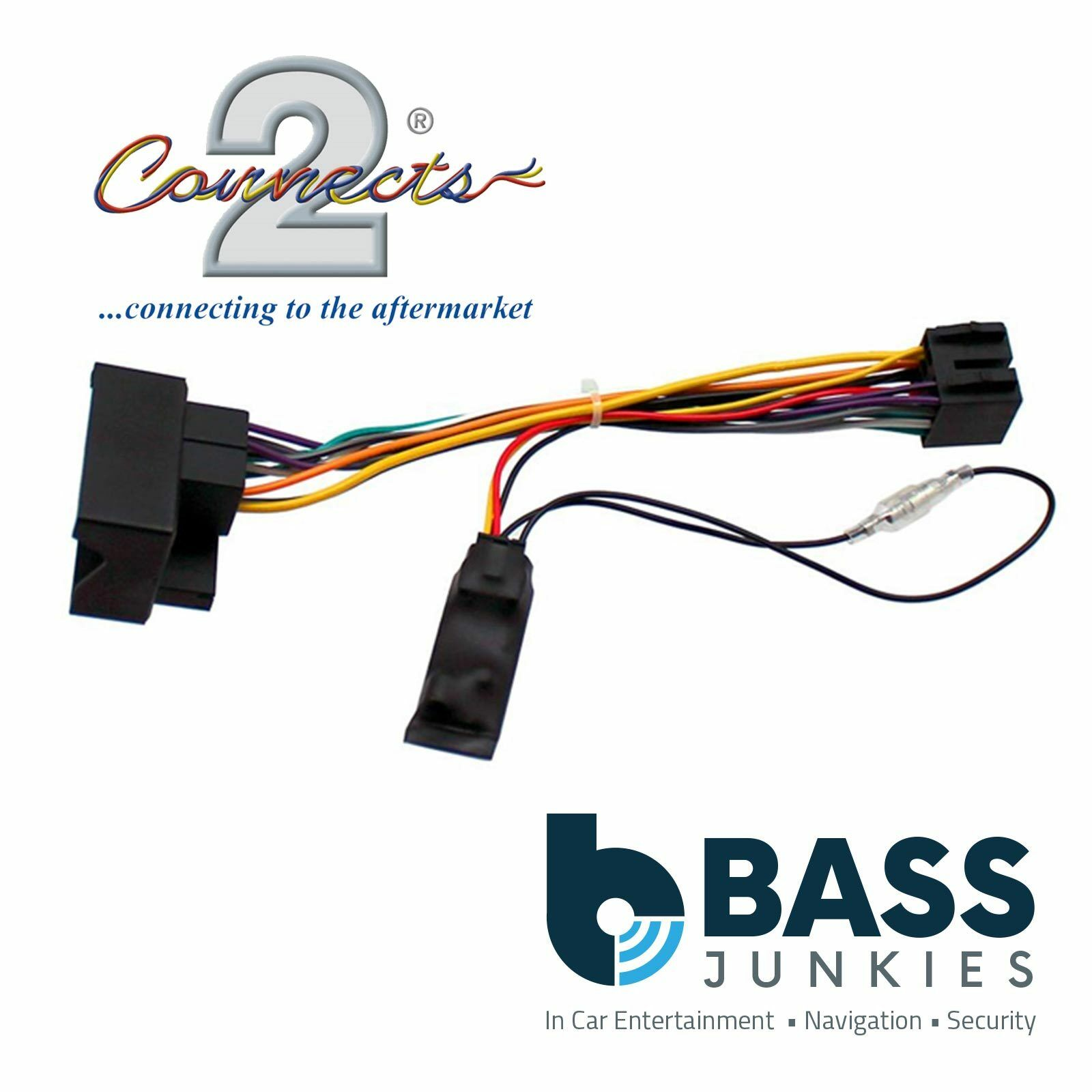 Ford Kuga 2008 2012 Car Stereo Quadlock Wiring Harness Ignition How To Connect A Wire For Adapter Lead 1 Of 1free Shipping See More