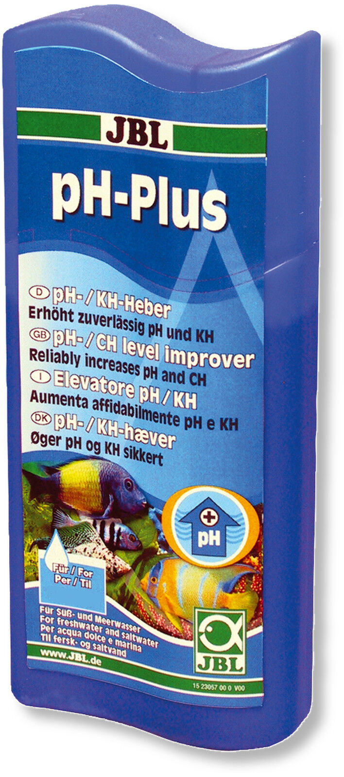 JBL pH Plus 100ml Increase pH and KH of Aquarium Water Hardening Alkalinity