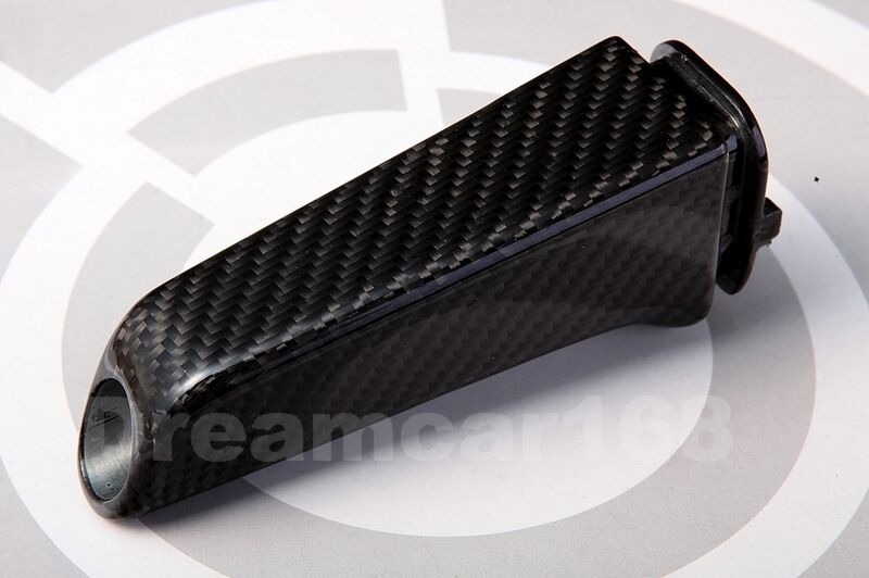 New Genuine Carbon Fibre Handbrake Handle Sleeve For Bmw 1