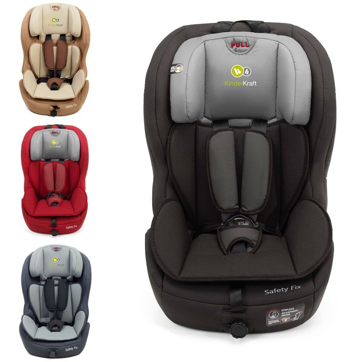 Kinderkraft safetyfix isofix si ge voiture pour b b for Chaise kinderkraft