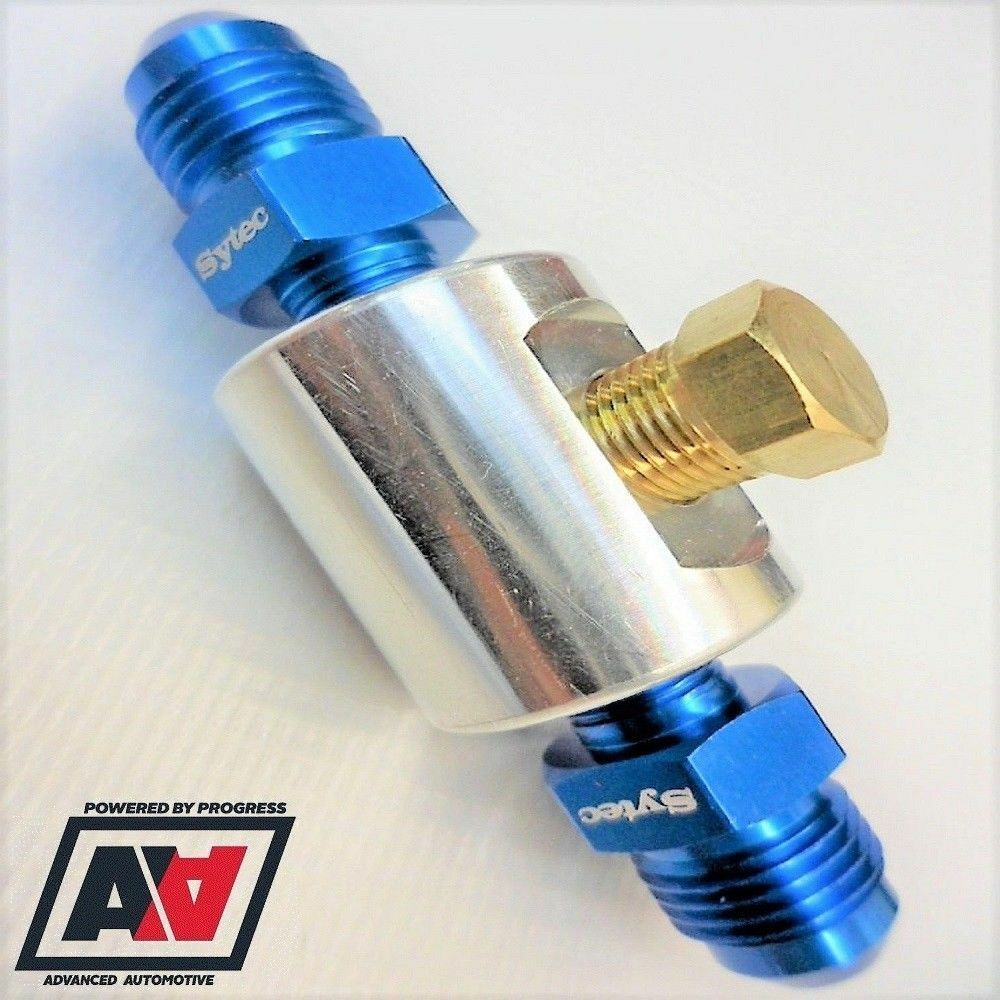 MSE070//6N IN-LINE FUEL GAUGE FITTING KIT 1//8NPT TO 6mm ID PIPE
