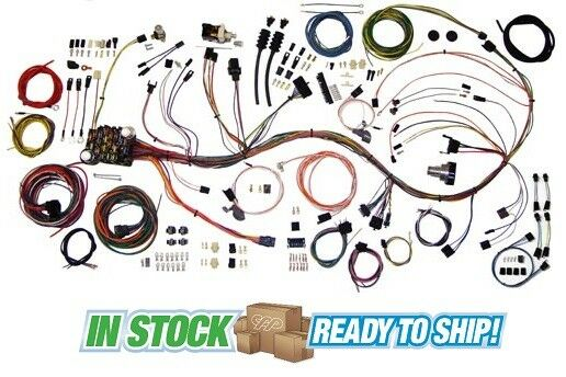 1967 67 1968 68 Chevy C10 Truck Wiring Harness American Autowire 510333: 68 Chevy Truck Wiring Harness At Mazhai.net