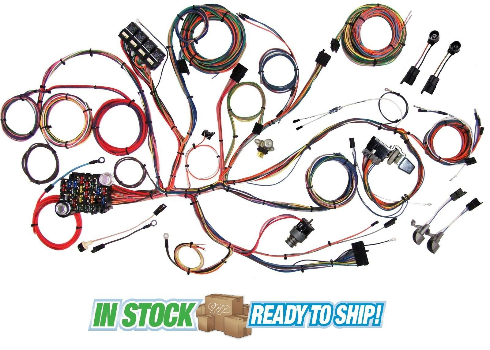 64 65 66 Ford Mustang Classic Update American Autowire Wiring Cj3a Harness 1 Of 6only 0 Available