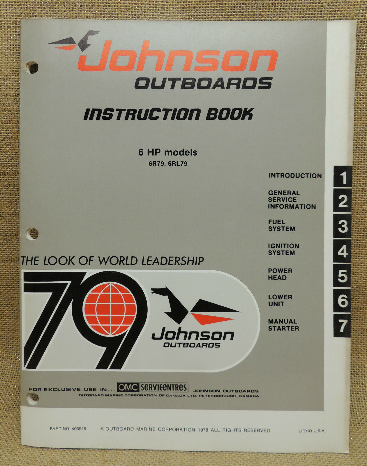 Johnson Seahorse Outboard Service Repair Manual 1979 6 HP 6R79 6RL79 1 of  5Only 1 available Johnson Seahorse Outboard Service Repair Manual ...