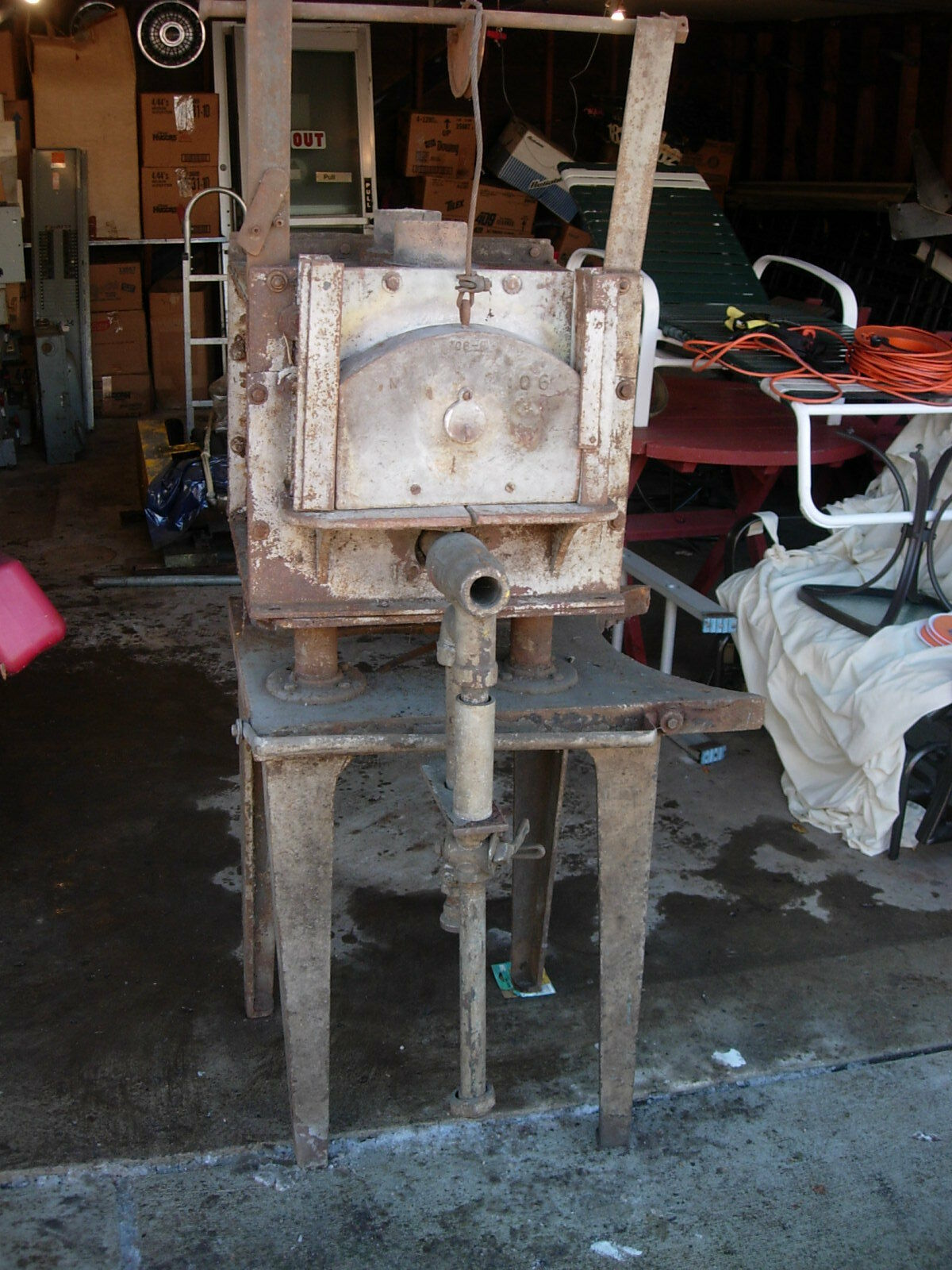 Vintage Heat Treat Furnace From A Tool And Die Shop (Used) - Natural Gas