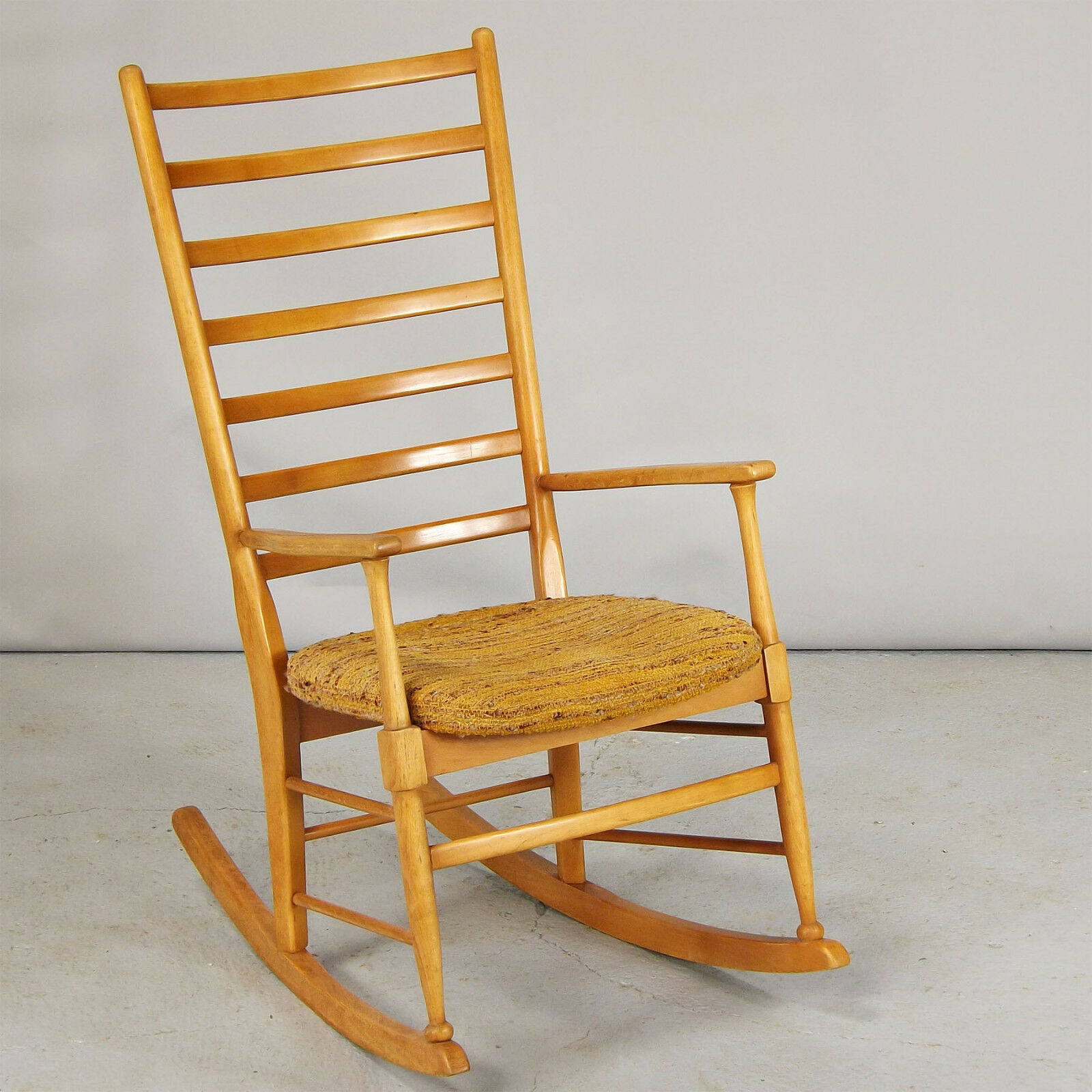 Rocking Chair - Scandinavian, Retro, 1960s, Solid Beech (delivery available)