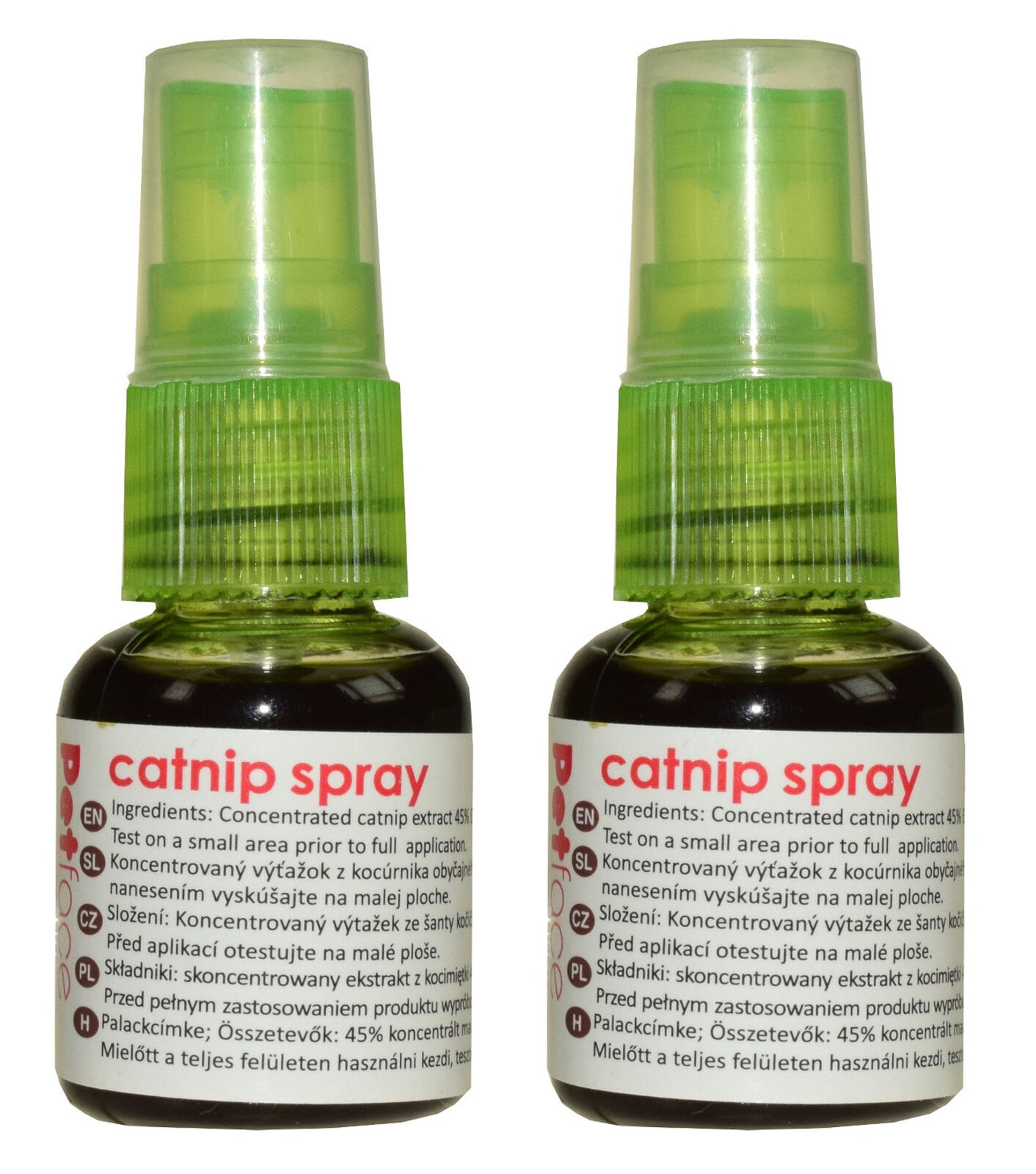 Petface Catnip Spray for Scratcher Toys 45% Cat Nip 55% Ethanol 2 x 30ml Bottle