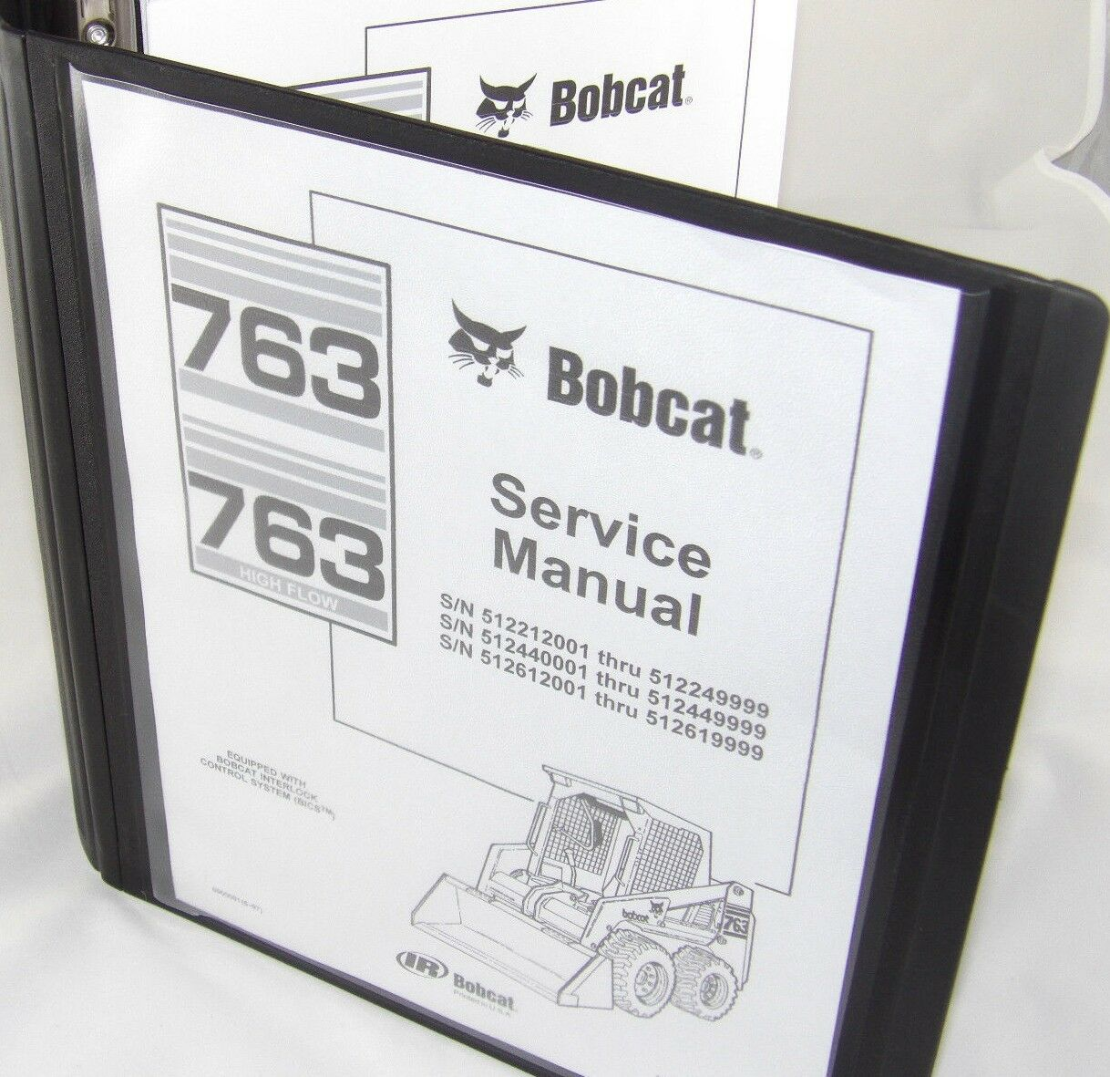 Bobcat 763 763F Service Manual Book Skid steer 6900091 repair shop book 1  of 6Only 1 available ...