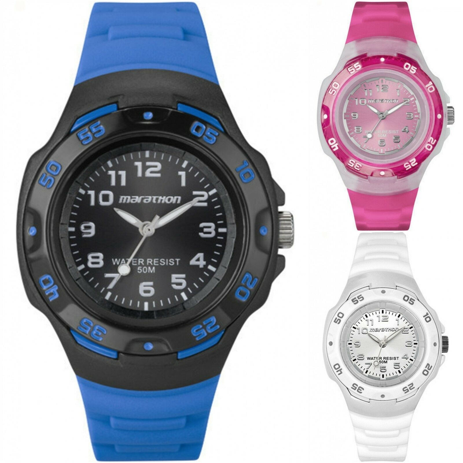 Timex Women's Marathon | Resin Strap 50m Water Resistant | Analog Watch