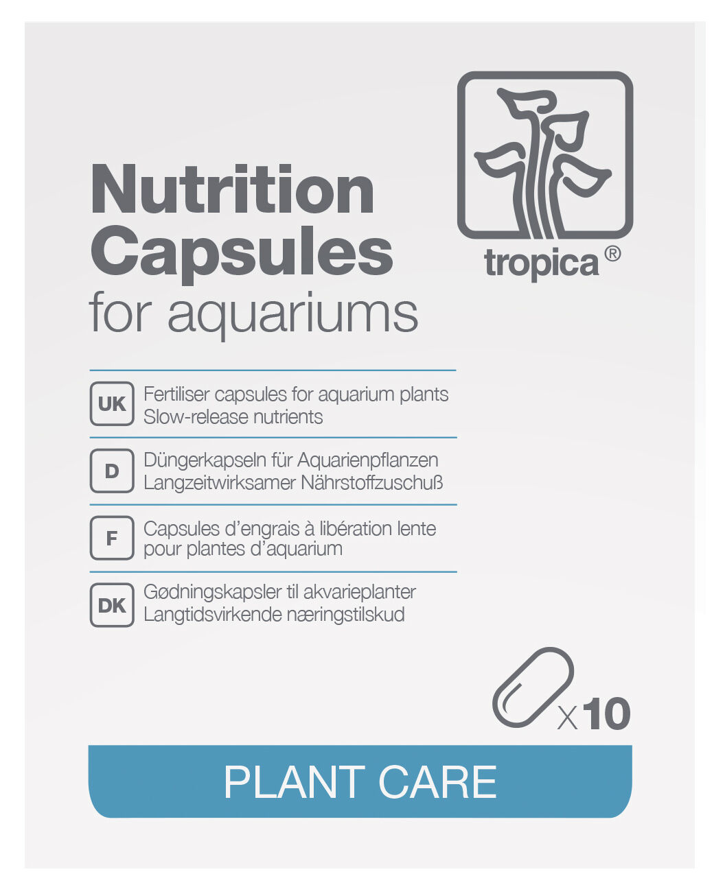 Tropica Nutrition Capsules Root Tabs Fertilizer Planted Aquarium Plants