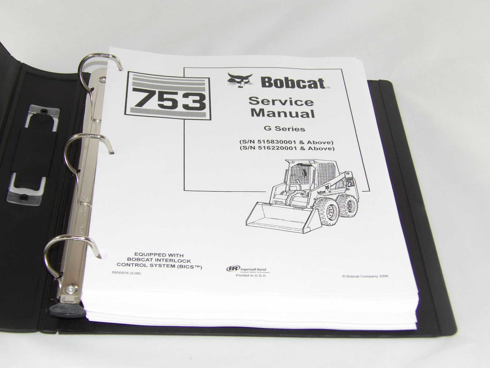 Bobcat skid steer 753G 753 Service Manual Book 6900976 1 of 5Only 3  available ...