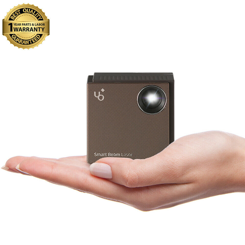 Uo smart beam portable laser projector accessories for Smart pocket projector