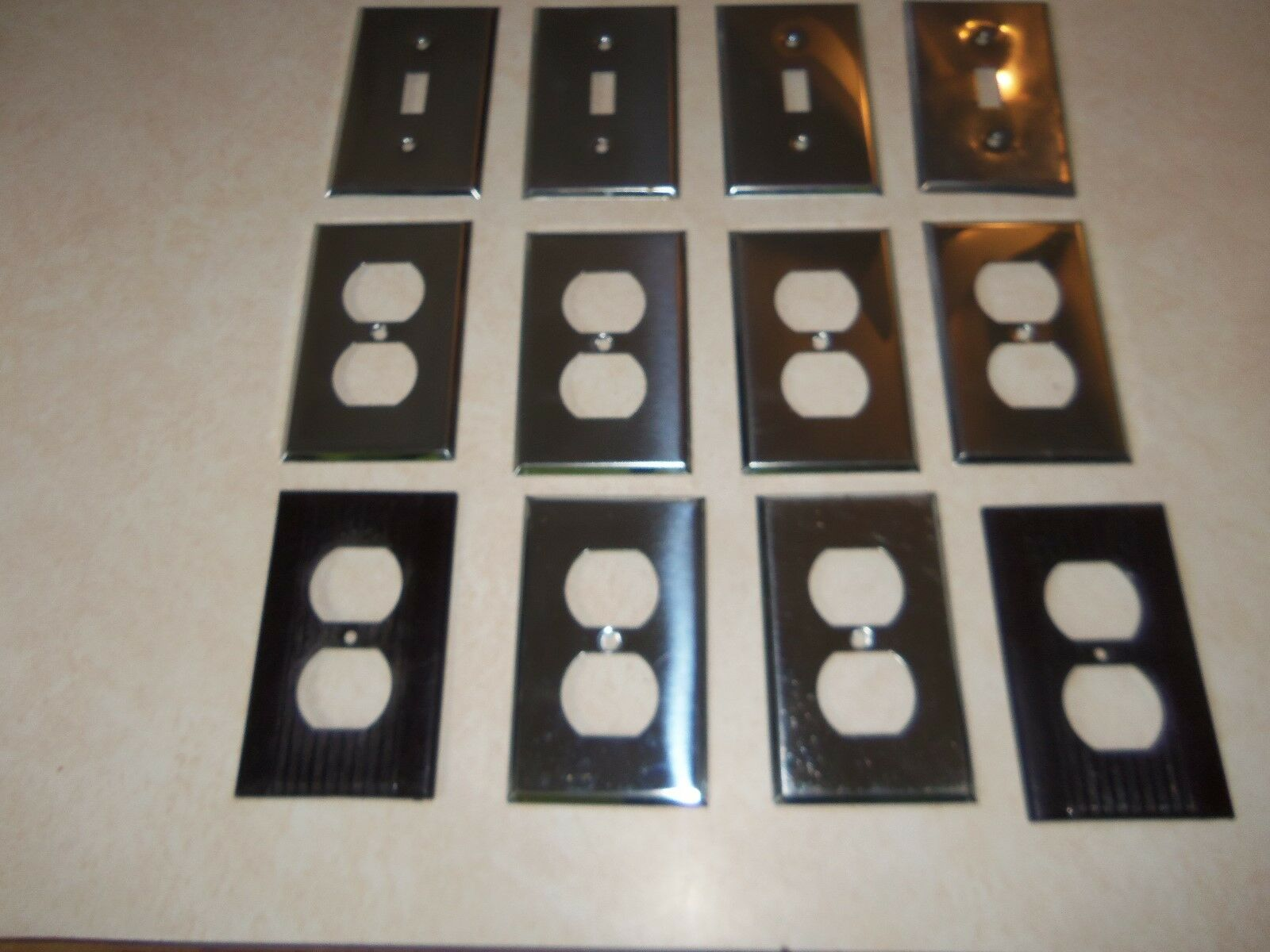 12 NOS Switch & Receptacle Covers