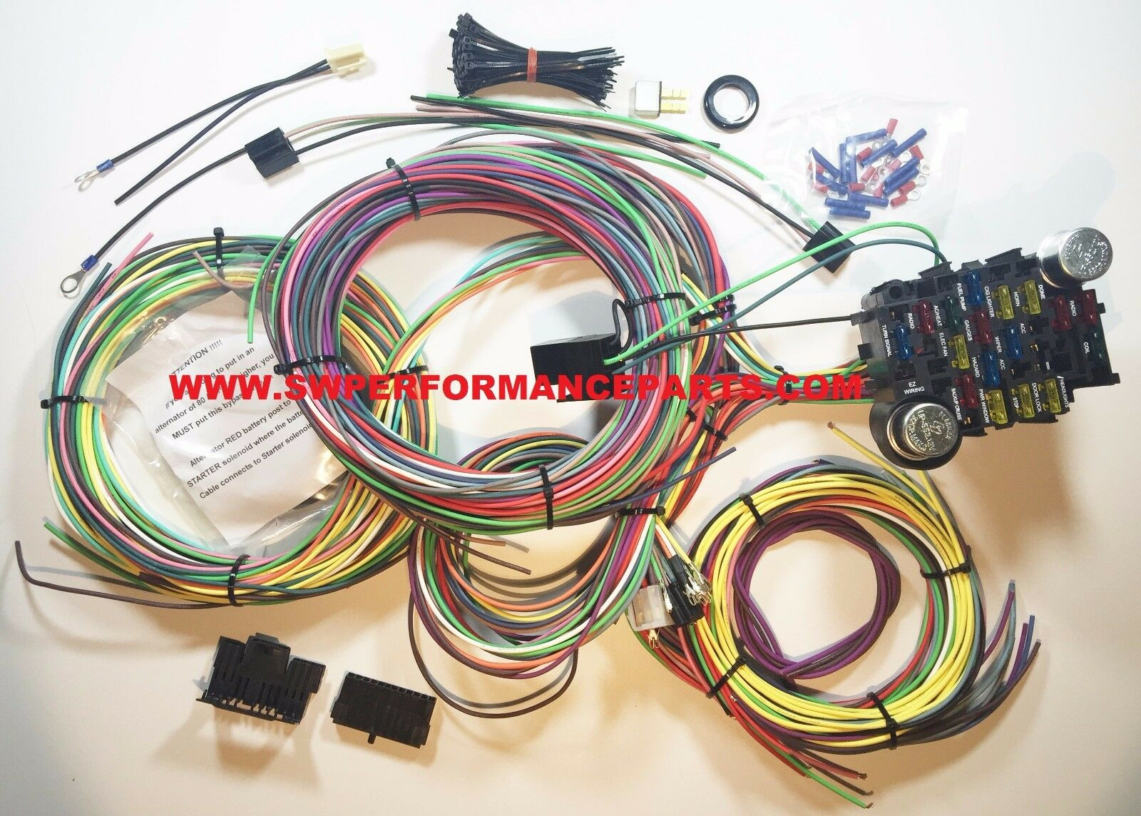 Easy Wiring Harness For Gauges Reveolution Of Diagram Cluster 21 Circuit Ez Chevy Mopar Ford Hotrods Universal X Rh Picclick Com 14 Gauge