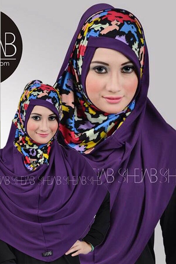 Indonesia Hijab By Shejab One Piece Abaya Jilbab Al Amira Office Hijab