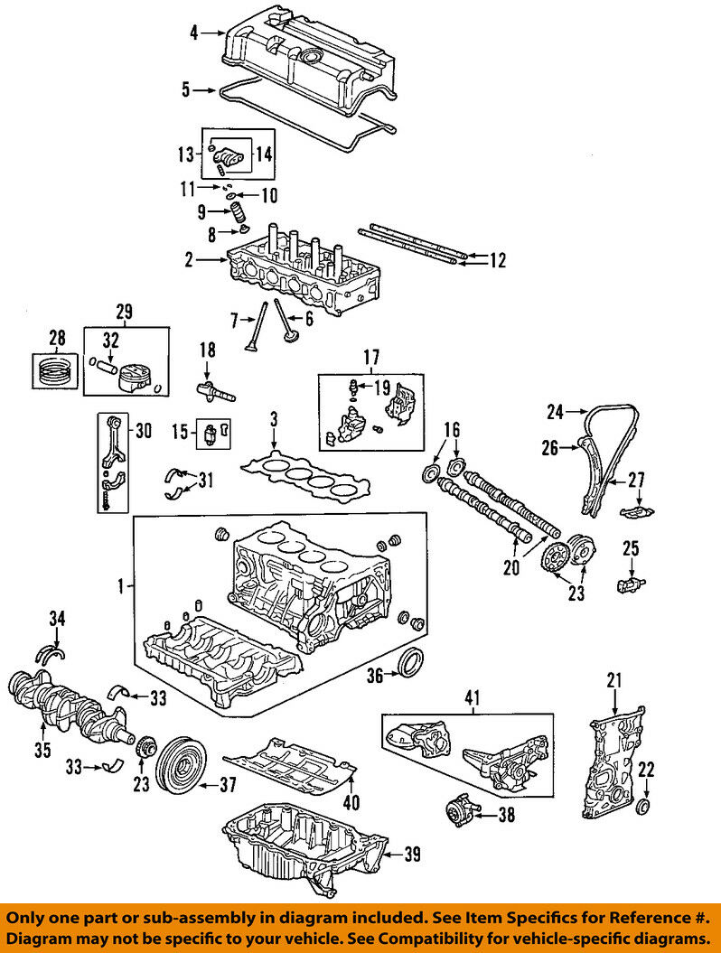 Honda Oem Engine Timing Chain Guide 14540prba01 2327 Picclick Diagram 1 Of 1only Available