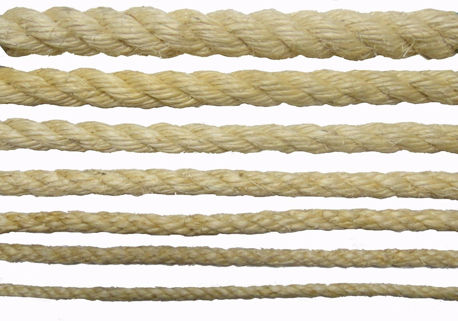 New natural sisal rope coils cats garden decking pets for Garden decking with rope