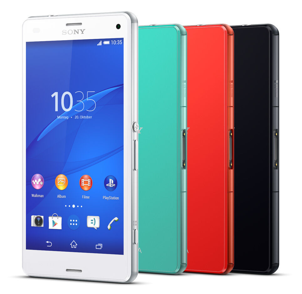 sony xperia z3 compact d5803 16gb smartphone 4g schwarz. Black Bedroom Furniture Sets. Home Design Ideas