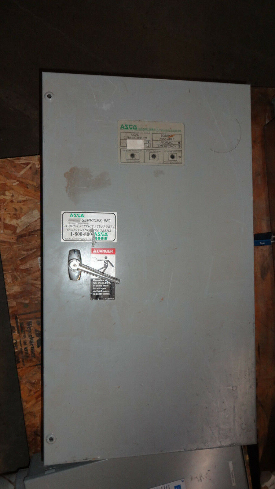 Asco Automatic Transfer Switch Series 300 A30023031c 30 Amp 120 Volt 185 Switches 1 Ph Of 6only Available