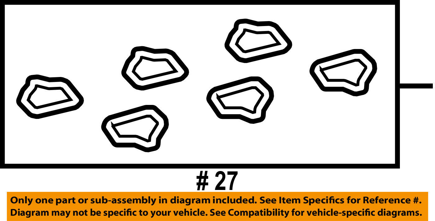 Ford Oem Engine Intake Manifold Gasket 9l8z9439a 1161 Picclick With Diagram 1 Of 2free Shipping