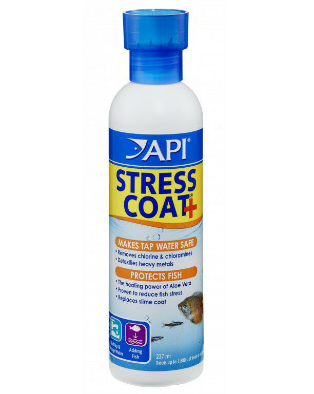 Api stress coat 237ml tap safe water conditioner for How to make tap water safe for fish