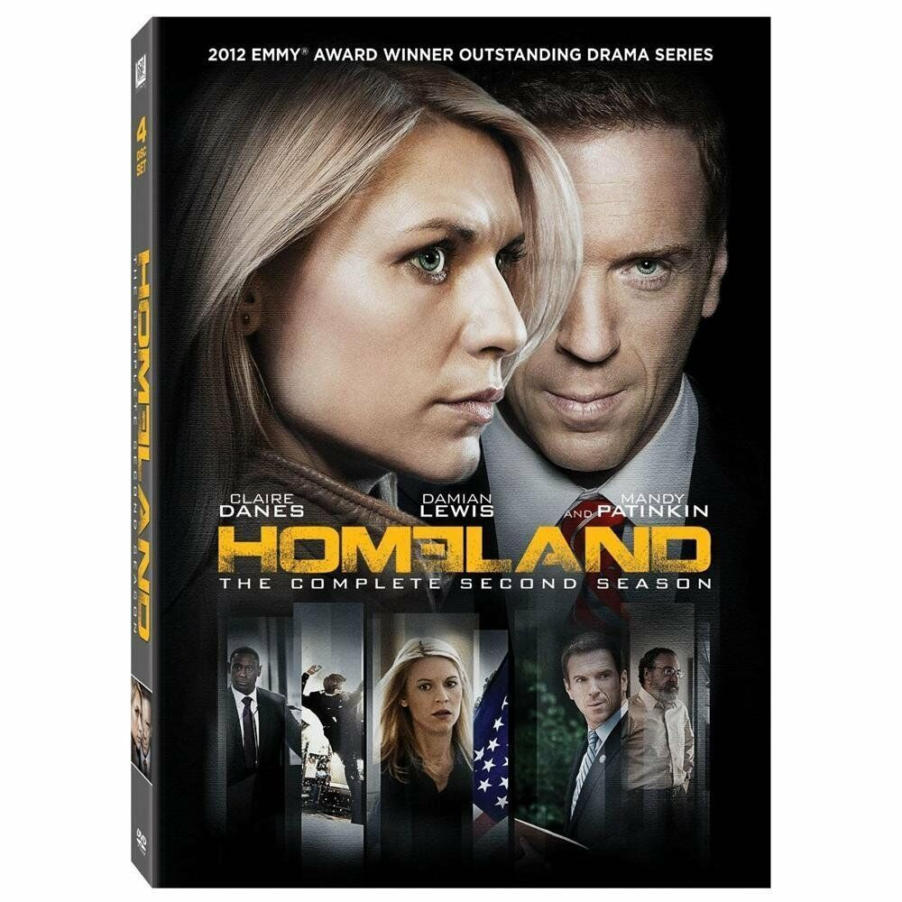Homeland: The Complete Second Season 2 (DVD, 2013, 4-Disc Set)