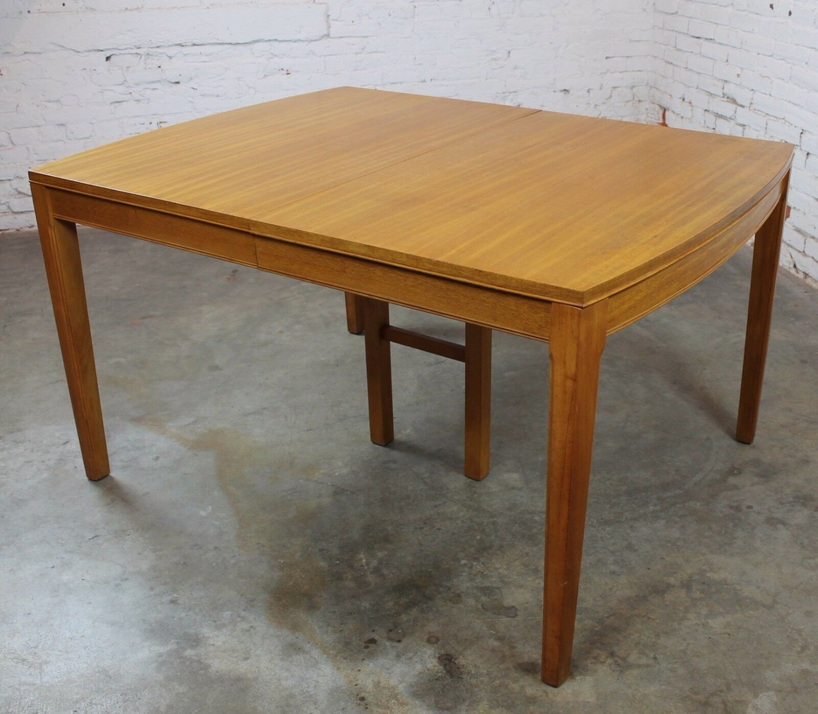 Vintage Mid Century Modern Mahogany Dining Table 1 Of 12only Available