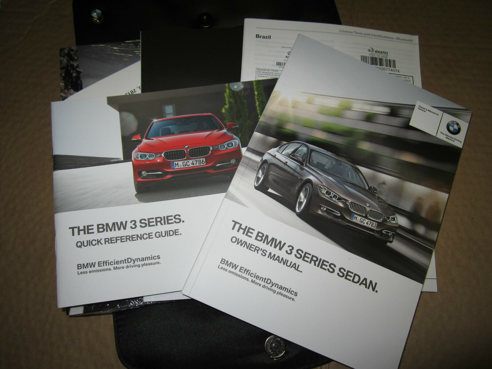 2014 Bmw 3 Series Owners Manual - J0639 1 of 1FREE Shipping ...