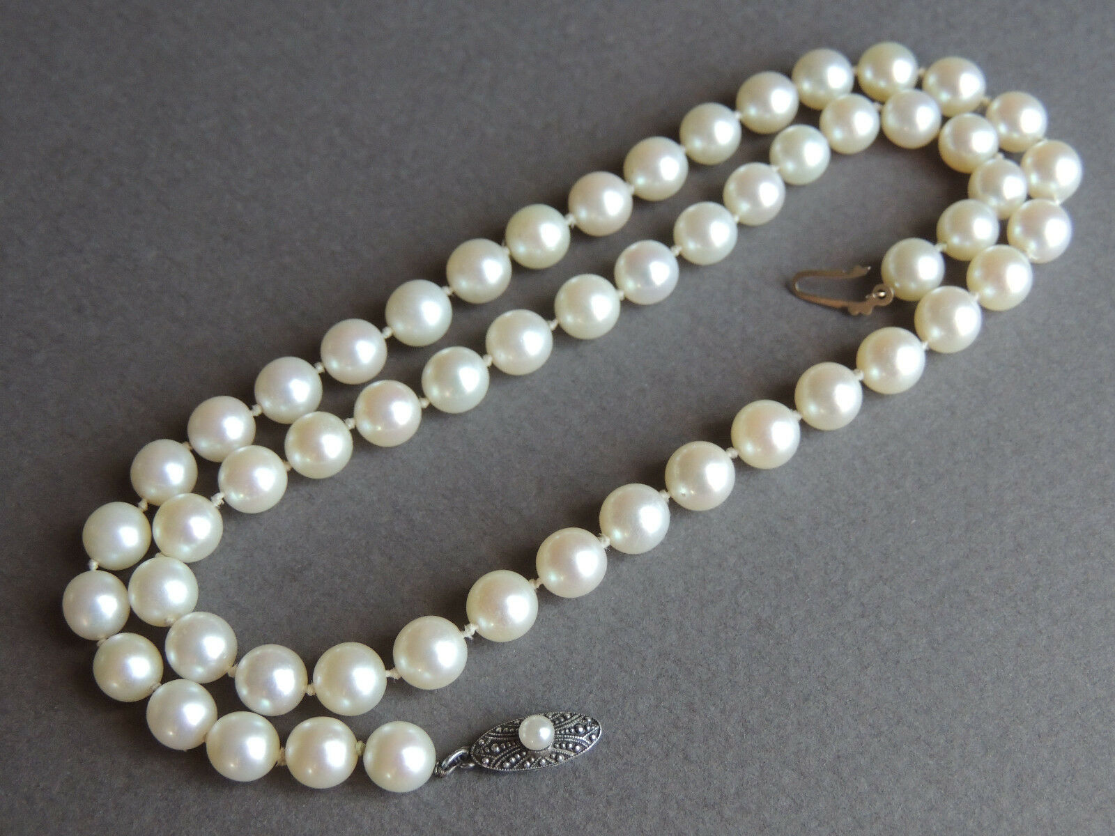 strand mikimoto akoya laings pearl pearls necklace cultured jeweller