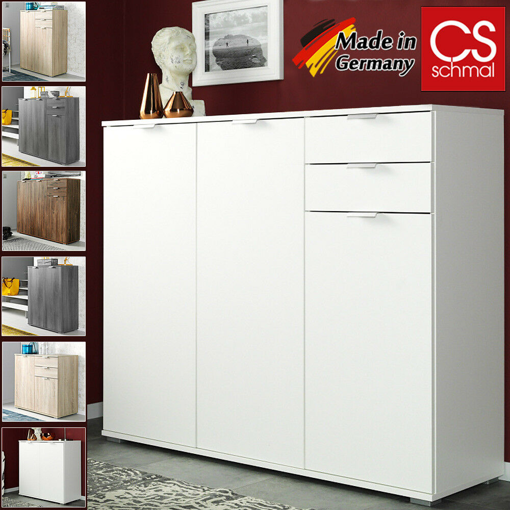 sideboard highboard kommode mehrzweckschrank flur anrichte beistellkommode eur 54 95 picclick de. Black Bedroom Furniture Sets. Home Design Ideas