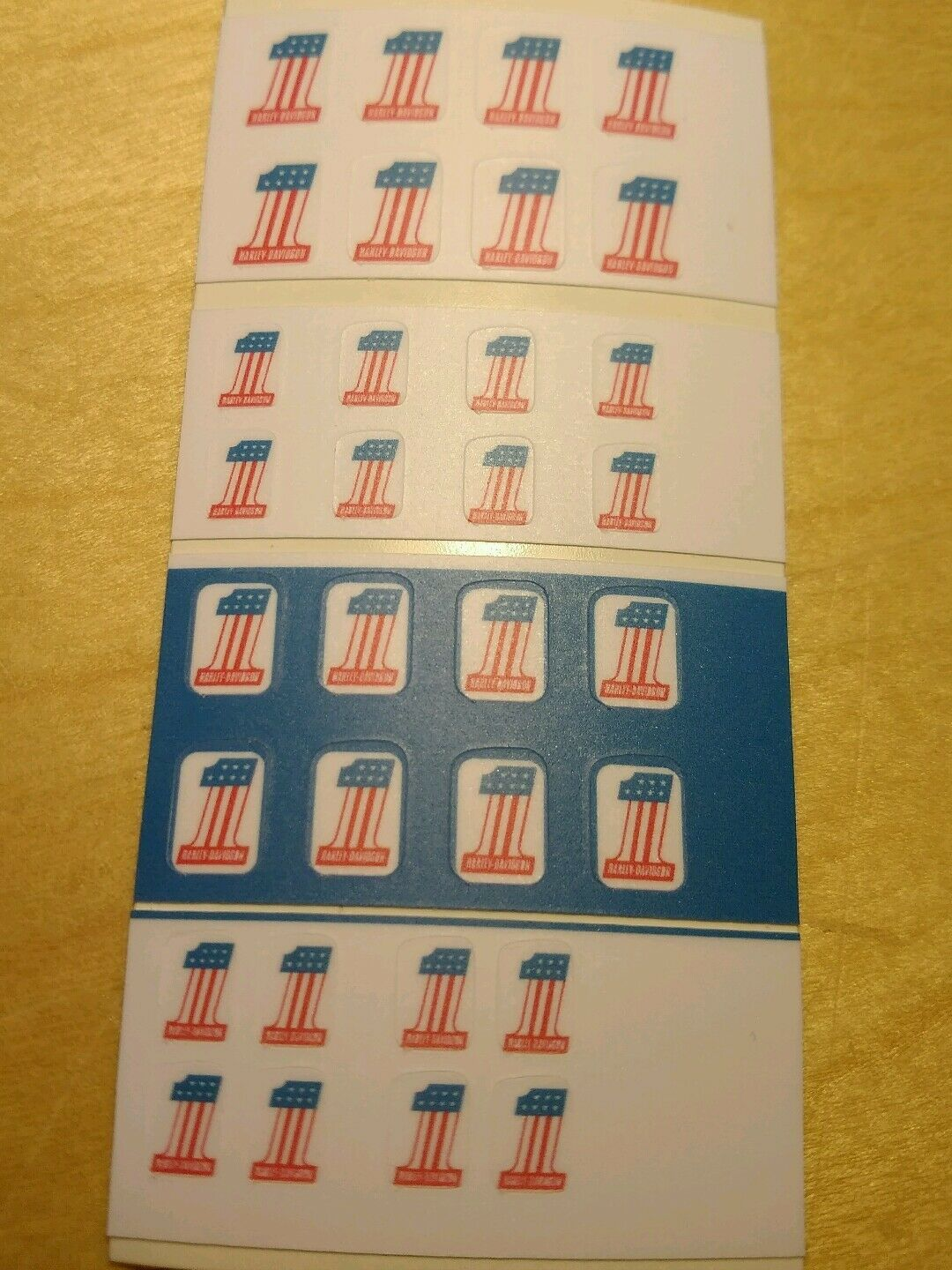 Evel knievel stunt cycle 1 number stickers